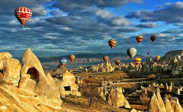 土耳其将举办热气球节 超过150架热气球同时升空