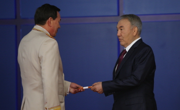 Министр внутренних дел К.Касымов стал генерал-полковником