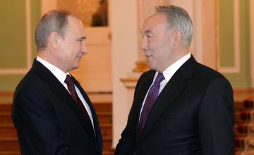 普京对纳扎尔巴耶夫总统在一体化进程方面的创新之举给予高度评价