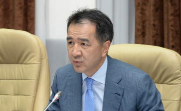 Sagintayev, Rogozin discussed conditions of planned flight of Kazakhstani to International Space Station