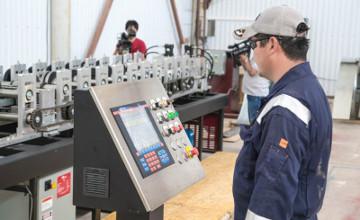 В Актау открылся цех по производству легкосборных стальных тонкостенных конструкций (ФОТО)