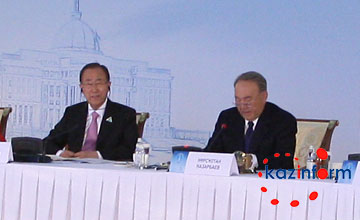 President of Kazakhstan calls world community to support decisions of UN