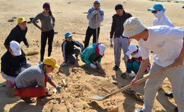 Buried warrior of Oguz period uncovered in Atyrau (PHOTO)