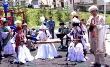 В Анкаре открыли парк Суюнбая