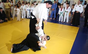 Стивен Сигал провел в Астане мастер-класс по айкидо (ФОТО, ВИДЕО)