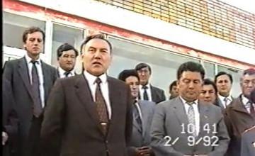 Еще в начале тяжелых 90-х годов Н. Назарбаев уверенно говорил - «Будет свет в конце тоннеля»