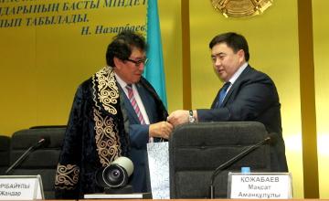 День столицы отметили сотрудники Антикоррупционной службы Жамбылской области