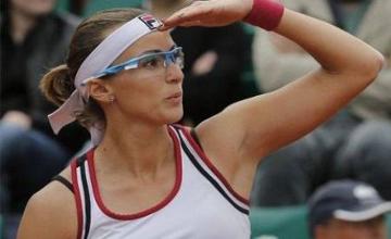 Yaroslava Shvedova won Garbiñe Muguruza at Cincinnati open