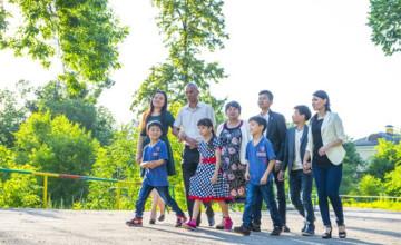 «Мерейлі отбасы»: Ключ семейного счастья - во взаимопонимании и взаимопомощи - алматинка Кунсулу Кадырова (ФОТО)