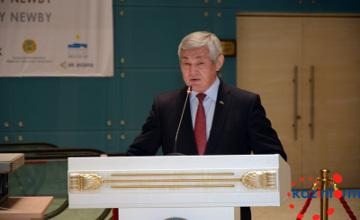 Астанада Қазақ хандығының 550 жылдығына арналған «Мәңгілік Ел» триптихы таныстырылды (ФОТО)