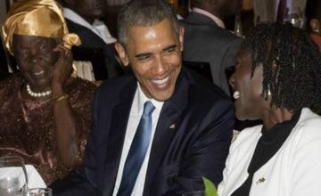 奥巴马东非省亲 鼓励中国投资
