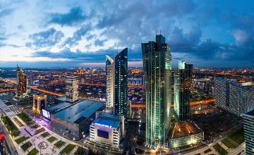 Астана стала лидером рейтинга международной активности городов