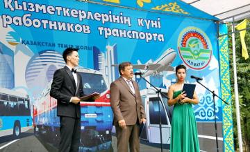 Около 20 тысяч работников транспорта принимают участие в создании бюджета Алматы - В. Устюгов