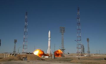 В предстоящие три месяца с космодрома Байконур состоится три  пуска
