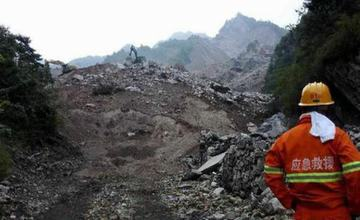 中国陕西商洛发生山体滑坡 60人失踪