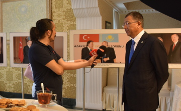 Kazakhstan's Embassy to Turkey organized celebration in honor of 20th anniversary of Constitution