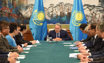 Kazakh President, Chairman of CITIC Group discuss implementation of joint investment projects
