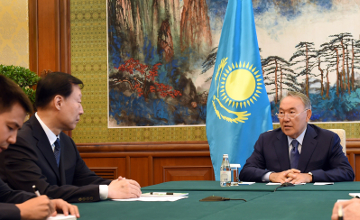 Nazarbayev: Lianyungang terminal is Kazakhstan's first exit to Pacific Ocean