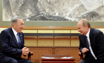 Presidents of Kazakhstan and Russia discuss bilateral relations