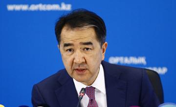 Рост ВВП Казахстана в 2015 году составил 1,2% - Б.Сагинтаев