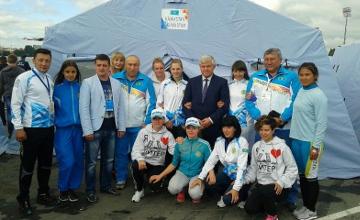 Казахстанские спасатели заняли 1-е место на этапе ЧМ по пожарно-спасательному спорту (ФОТО)
