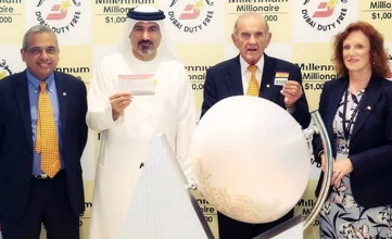 Kazakhstan national wins $1 million in Dubai duty free millennium millionaire promotion