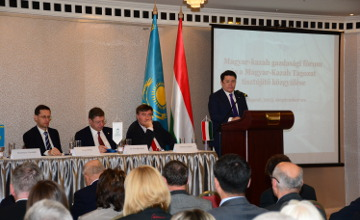 Kazakh-Hungarian business forum held in Budapest