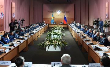 纳扎尔巴耶夫:哈俄两国在国际食品市场的合作潜力雄厚