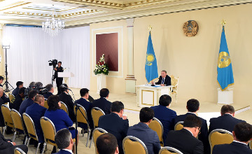 Nazarbayev: Nurly zhol is a part of New Silk Road Economic Belt