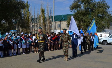 Motor rally dedicated to 70th anniversary of Great Victory started in Aktobe (PHOTO,VIDEO)