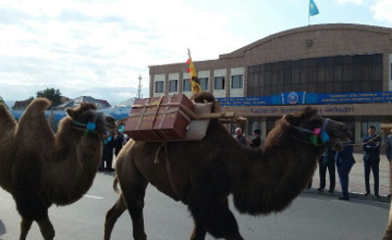 Жамбылцы готовятся встречать караван, идущий по маршруту Великого Шелкового пути из Сианя (ФОТО)