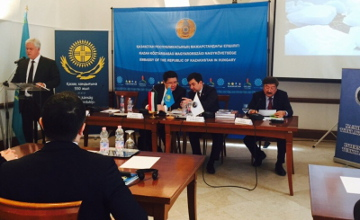 Forum devoted to 550th anniversary of the Kazakh Khanate first held in Europe (PHOTO)