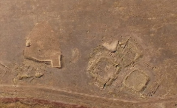 Древний город Бозок показали с высоты птичьего полета (ВИДЕО)