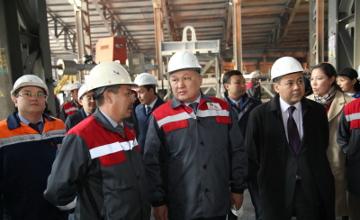 В Караганде на кремниевом заводе восстановили вторую рудотермическую печь (ФОТО)