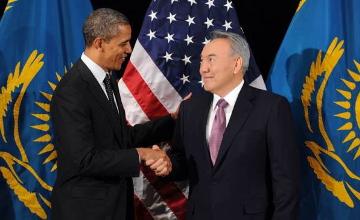 N.Nazarbayev met with B.Obama in New York