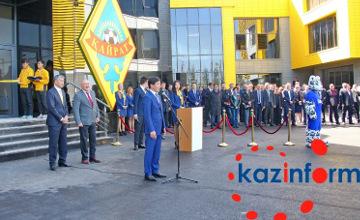 В Алматы открыли новую тренировочную базу ФК «Кайрат» (ФОТО)
