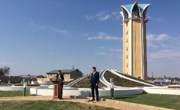 В Таразе на открытии монумента «Қазақ хандығы» ожидается 5000 гостей
