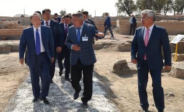 Archaeological Park opened in Taraz