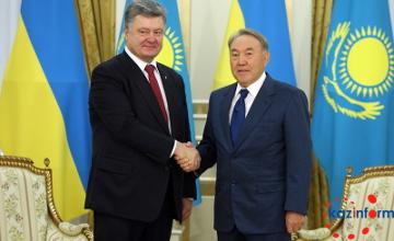 Kazakhstan, Ukraine Presidents consider strengthening economic coop (PHOTO)