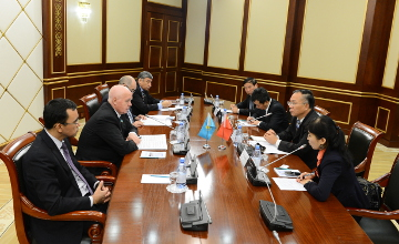 Kazakh, Chinese MPs discuss bilateral partnership