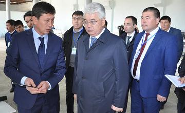 Глава ЮКО поручил завершить строительство водоканала Бабата