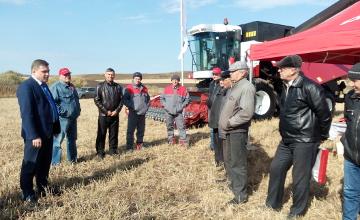 Модернизированный комбайн «Ростсельмаша» завоевывает популярность у аграриев ВКО