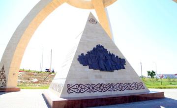 В Шымкенте открыли этно-исторический комплекс «Казына» (ФОТО)