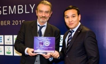 Профессиональная футбольная лига Казахстана вступила в ЕПФЛ