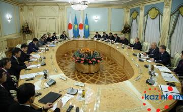 Qazaqstan men Japonııa 700 mıllıon dollar kólemindegi 10 jobany júzege asyrmaq - N.Nazarbaev (FOTO)