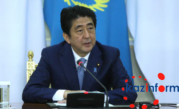 Синдзо Абэ: Денис Тен является одним из символов дружбы Казахстана и Японии