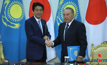 N. Nazarbaev Japonııa tarapymen yntymaqtastyqta  óte mańyzdy salalardy atady