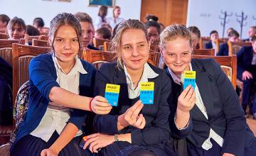 По 25 бесплатных поездок в общественном транспорте Алматы получили 10 школьников