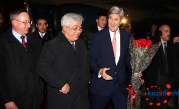 U.S. Sec of State John Kerry arrived in Kazakhstan (PHOTOS)