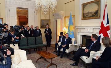 Деловые круги Казахстана и Великобритании заключили контракты и меморандумы на $5 млрд.
